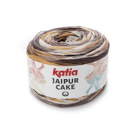 Katia Jaipur Cake - 402 Ecru - Beige - Bruin - Zandgeel