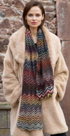 Zaterdag 18-11-2017 LANG Yarns Mille Colori Baby Sjaal