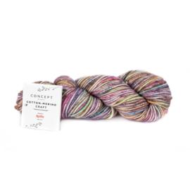 Katia Concept - Cotton-Merino Craft - 206 Lila-Pistache-Bruin