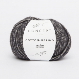 Katia Concept - Cotton-Merino 108 Zwart