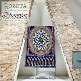 Scheepjes CAL2019 Rozeta Colour Crafter - Twilight
