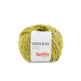 Katia Azulejo 306 - Geelgroen - Roestbruin - Kaki - Roodoranje