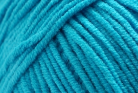 2511 Softfun diep aqua blauw