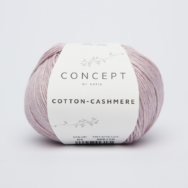 Katia Cotton Cashmere - 64 Licht medium paars
