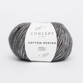 Katia Concept - Cotton-Merino 107 Donker Grijs