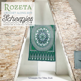 Scheepjes CAL2019 Rozeta Luxury Kit Our Tribe - Dusk