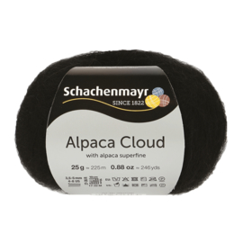 Schachenmayr - Alpaca Cloud 00099 Zwart
