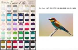 Cal 2015 Bee Eater pakket (15 bollen Linen-Soft)