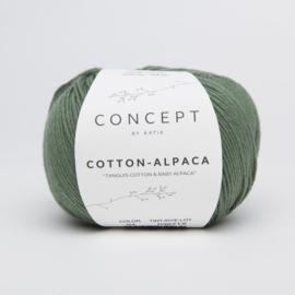 Katia Concept - Cotton-Alpaca - 94 Mintgroen