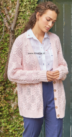 ROWAN Handknit Cotton Vest Coalport