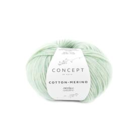 Katia Concept - Cotton-Merino 132 Witgroen