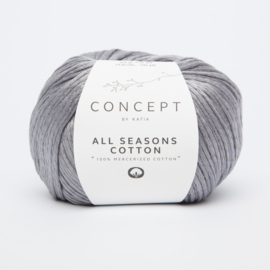 Katia Concept - All Seasons Cotton - 04 Medium grijs