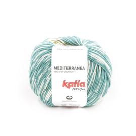 Katia Mediterranea 303 Groenblauw - Groen