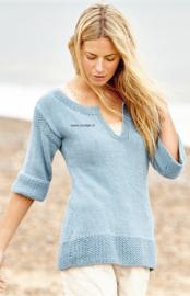 ROWAN Handknit Cotton Trui Briston