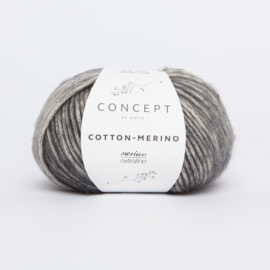 Katia Concept - Cotton-Merino PLUS 300 Grijs