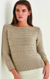 Rowan Cotton Cashmere Trui Sandy