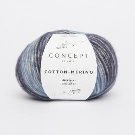 Katia Concept - Cotton-Merino PLUS 205 Blauw
