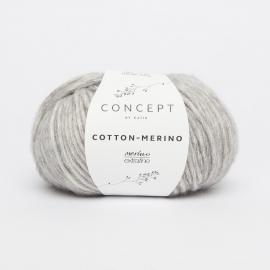 Katia Concept - Cotton-Merino 106 Licht Grijs