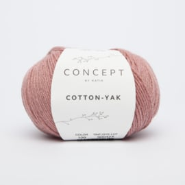 Katia Concept - Cotton-Yak - 109 Koraal