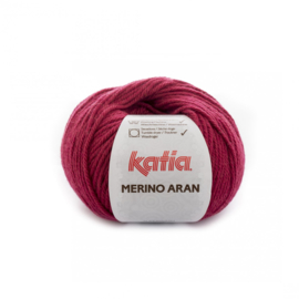 Katia Merino Aran 71 - Wijnrood