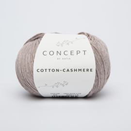 Katia Cotton Cashmere - 63 Sepiabruin