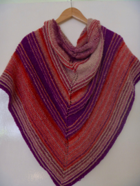 Shawl of Secret pakket (roze-paars)