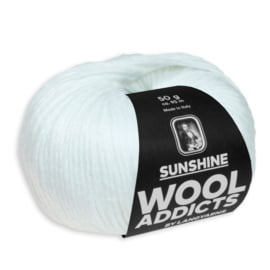 LANG Yarns Wooladdicts - Sunshine - 0001 Wit