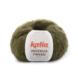 Katia Ingenua Tweed - 107 Kaki - Mintgroen