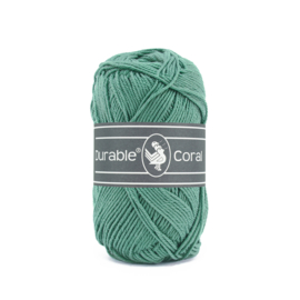 Durable Coral Katoen - 2134 Vintage Green