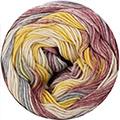 Katia Bahamas - 65 Geel - Jeans - Bleekrood