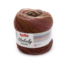 Katia Melody Color - 307 Reebruin - Roestbruin - Lila