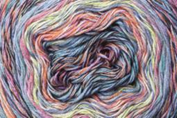 Katia Funny Rainbow - 106 Blauw-Rood-Geel