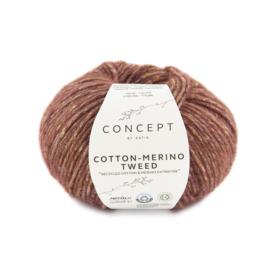 Katia Concept - Cotton-Merino Tweed 500 Rood