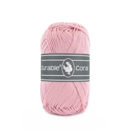Durable Coral Katoen - 223 Rose Blush