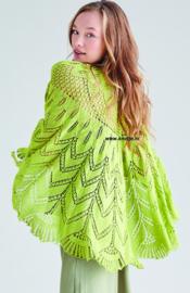Rowan Silky Lace Omslagdoek Chiffon