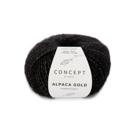 Katia Concept - Alpaca Gold 353 Zwart