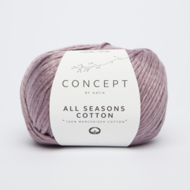 Katia Concept - All Seasons Cotton - 07 Medium paars