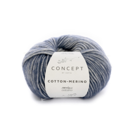 Katia Concept - Cotton-Merino PLUS 305 Blauw