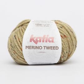 Katia Merino Tweed - 410 Olijfgroen
