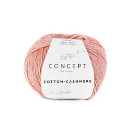 Katia Cotton Cashmere - 72 Abrikoos
