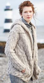 ROWAN Brushed Fleece Vest Cookie