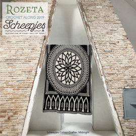 Scheepjes CAL2019 Rozeta Colour Crafter - Midnight