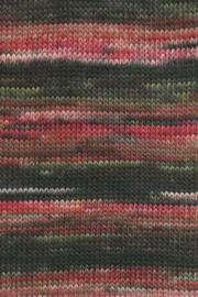 LANG Yarns - Mille Colori 200 gram - 0065 Roze-Bruin-Groen