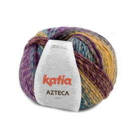 Katia Azteca 7873 Kaki-Camel-Lila