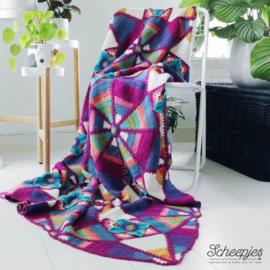 Scheepjes Royal Garden Blanket Kit