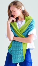 Rowan Silky Lace Sjaal Tussah