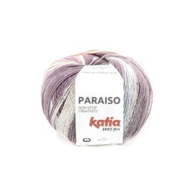 Katia Paraiso - 105 Beigerood - Waterblauw - Parelmoer - Lichtviolet