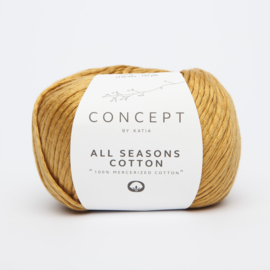 Katia Concept - All Seasons Cotton - 15 Oker