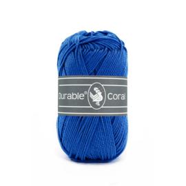 Durable Coral Katoen - 2103 Cobalt