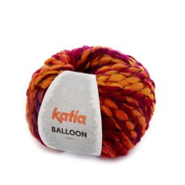 Katia Balloon - 57 Rood - Oranje - Oker - Lila